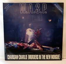 "WASP Chainsaw Charlie UK 12"" Gatefold Sleeve Single Blackie Lawless W.A.S.P."