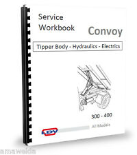 LDV Convoy Tipper Hydraulics+Electrics Workshop Manual