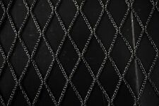 "Black Sports Netting Mesh 60"" Wide Polyester Durable Heavy Duty Outdoor Fabric"