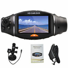 "2.7"" 1080P Video Dashboard Vehicle Dual Lens Camera Recorder GPS Full HD Car DVR"