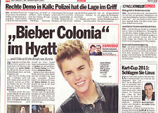 """Justin Bieber """"Collection"""" of international reporters and articles..."""
