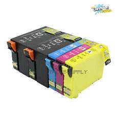 5 Packs T252XL Ink For Epson Workforce WF3620 WF3640 WF7110 WF7620 WF7610