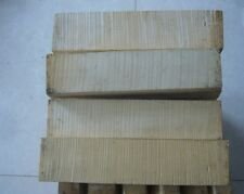 Wood  European tone wood block for 1 piece 4/4 size violin scrolls making