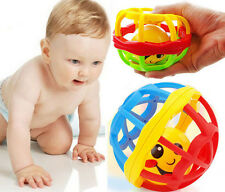 Colorful Grasping Bell Ball Toys Baby Hand Grasp Educational Ball Cute Plastic