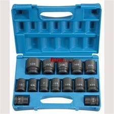 "Grey Pneumatic 8038 3/4"" Drive 14 Piece SAE Impact Socket Set"