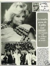 Coupure de Presse Clipping 1981 (6 pages) Cathy Lee Crosby