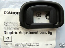 Canon Dioptric adjustment lens Eg-2 for EOS 1DX,1DlV,1Dlll ,1DS lll,5Dlll n 7D