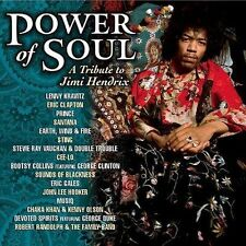 POWER OF SOUL A TRIBUTE TO JIMI HENDRIX VARIOUS ARTISTS RARE CD NEW SEALED!!