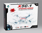 RC QUADRICOTTERO DRONE 2.4 GHZ X5C-1 CON TELECAMERA HD LUCI LED QUADCOPTER