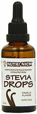 Nutri Nick Vanilla Stevia Drops 50ml