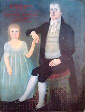 Sotheby's Catalogue Important Americana Folk Art New York Jan. 1988 Sale 5680
