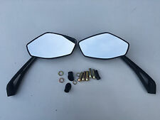 E MARKED MIRRORS TO FIT HONDA CBF125 ALL YEARS TOP QUALITY CNC STEM