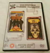 WWE Tagged Classics Survivor Series 1997 & 1998 RARE DVD 97/98