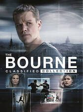 The Bourne Classified Collection (DVD, 2016, 5-Disc Set) Ships First Class