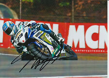 Tommy Hill Crescent Suzuki Hand Signed 7x5 Photo BSB 12.