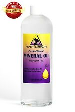 MINERAL OIL 90 VISCOSITY NF USP GRADE LUBRICANT by H&B Oils Center PURE 64 OZ