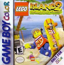 Lego Island 2 Bricksters Revenge - Game Boy Color GBA