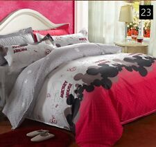 Mickey&Miney Mouse Queen Duvet Cover Set