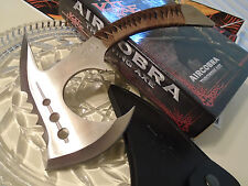 Kit Rae Silver Air Cobra Throwing Axe Hatchet Spike Knife Full Tang KR0055 New