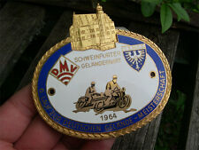 DMV GERMANY - Motorcycle CHAMPIONSHIPS Badge 1964