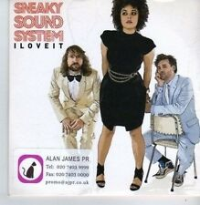 (BP509) Sneaky Sound System, I Love It - DJ CD