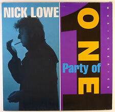 "12"" LP - Nick Lowe - Party Of One - B2607 - washed & cleaned"