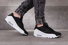 Nike Air Max 90 Ultra Moire Zapatillas Zapatos Gimnasio Informal-UK 8 (EUR 42.5) - Negro