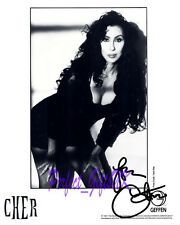Cher Cherilyn Sarkisian SIGNED SIGNATURE AUTOGRAPH 10X8 REPRO PHOTO PRINT