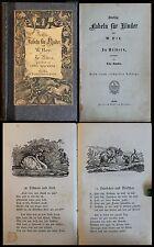 Hey/ Speckter Fünfzig Fabeln für Kinder um 1880 2 in 1 Kinderbuch Illustriert xz