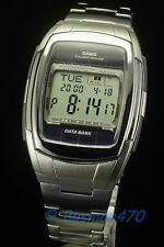 CASIO DB-E30D-1 Data Bank Tough Solar Power Silver Watch 100% Original New
