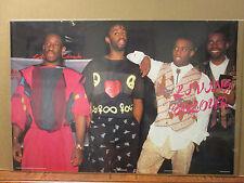Vintage Living Colour R&B band poster 7090