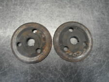 YAMAHA 440 VINTAGE SNOWMOBILE ENGINE MOTOR BRAKE DISC PLATES BRAKING
