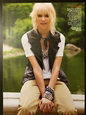 Taylor Momsen 5pg + cover TEEN VOGUE feature, clippings