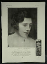 Violet Mary Nelson Freddie Cripps Emil Otto Hoppe 1927 Photo Article 6287