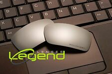 E51 Titanium ETCHED POLARIZED Replacement Legend Lenses For Oakley GASCAN