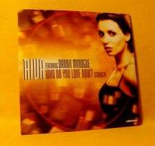 Cardsleeve Single CD RIVA FEAT DANNII MINOGUE Who Do You Love Now ? 2TR 2001