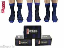 UNITED ODDSOCKS SUITABLE SIX FUNKY OFFICE ODD SOCKS MENS UK 6 - 11 FATHERS DAY