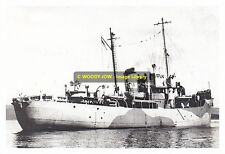 rp10884 - Royal Navy Trawler - HMS Unst , built 1942 - photo 6x4