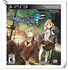PS3 Playstation Games Atelier Escha and Logy Alchemists of the Dusk sk RPG Koei