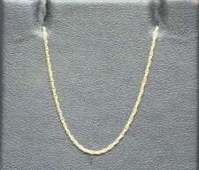 9K Yellow Gold Prince of Wales Chain - 0.9g 18 inches