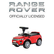 Genuine Range Rover Evoque Kids Childrens Ride On Push Along Toy Walker Car RED
