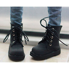Black Boots Short Shoes For 1/6 11inch 27cm BJD Doll AOD AS YOSD Doll G&D UNISEX