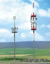 Busch x 2 Cell Phone Masts 1021 HO Scale (suit OO also)