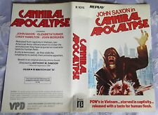 PRE CERT CANNIBAL APOCALYPSE, BETA, PAL, DPP39, VIDEO NASTY