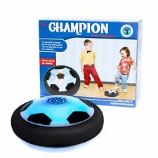 Vinsani LED Gliding Ball Fun Indoor Soccer Air Floating Football with Glide Base