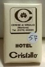 SAPONETTA HOTEL CRISTALLO -CERESE DI VIRGILIO- g. 14 RETTANGOLARE INCARTATA N.57