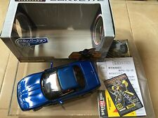 Transformers BINALTECH 2004 BT-06 TRACKS  corvette BLUE takara