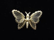 Vintage Signed MONET Wire Metalwork Small Butterfly Insect Scatter Brooch Pin