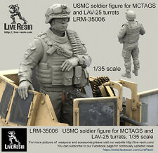 Live Resin 1/35 USMC Soldier for MCTAGS and LAV-25 Turrets