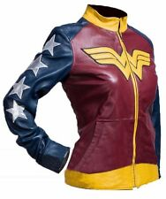 Adrianne Palicki Wonder Woman Costume Leather Jacket - BEST OFFER